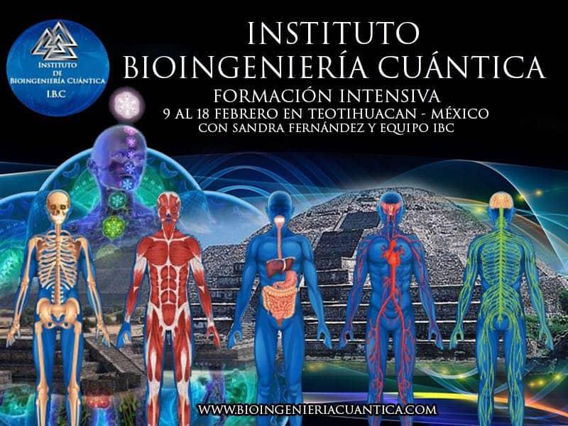 Formación de Terapeutas Bioingenería Cuántica. 9 al 18 feb de 2018. en Teotihuacán – MÉXICO @ Hotel TELPOCHCALLI