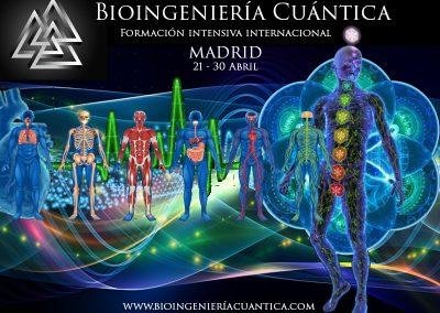 Formación Terapeutas en Bioingeniería Cuántica - Modalidad Intensiva ABRIL 2017