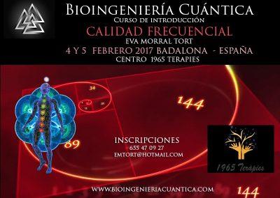 Curso Introducción Bioingeniería Cuántica, BADALONA -ESPAÑA