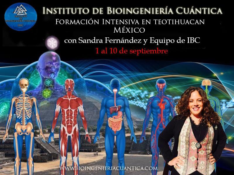 Formación Intensiva Bioingeniería Cuántica, en Teotihuacan México @ Hotel TELPOCHCALLI