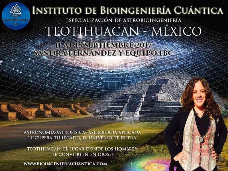 Formación de Astrobioingenieria con Sandra Fernández en Teotihuacan, México @ Teotihuacan – México