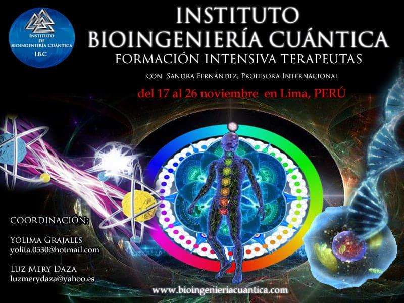 Formación de Terapeutas en Bioingenería Cuántica. Lima – PERU