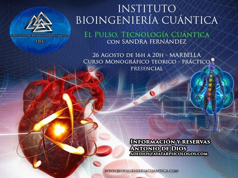 Curso Monográfico. El Pulso, Tecnología Cuántica con Sandra Fernández @ Hotel Sultán SPA, Salón Principal