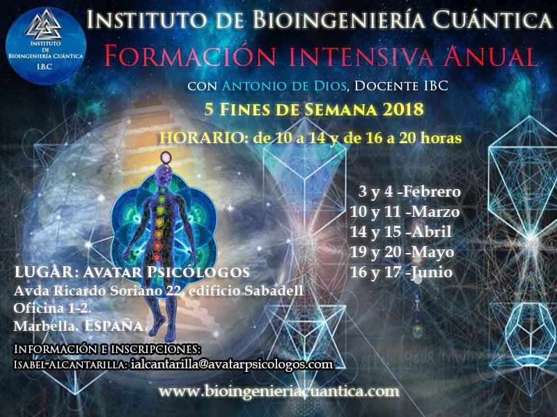 Formación Intensiva Anual con Antonio de Dios 2018 @ Avatar Psicólogos