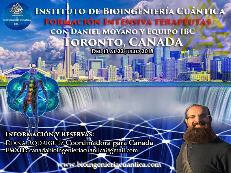 Formación Intensiva Terapeutas con Daniel Moyano. toronto, CANADA  del 13 al 22 julio 2018