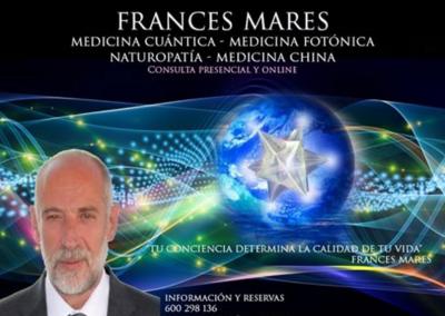 FRANCÉS MARES, re-abre consulta en el campo terapéutico.