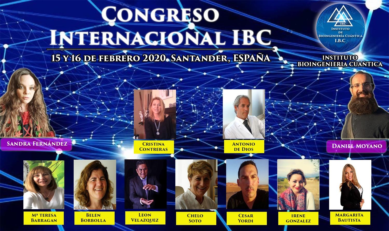 Congreso Internacional IBC con Sandra Fernández y Equipo IBC 15 y 16 de febrero 2020 en Santander, ESPAÑA