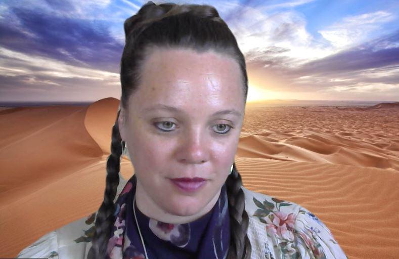 Especialidad entrelazamientos cuánticos, entrevista a Sandra Fernández