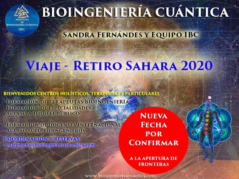 Viaje y Retiro en el Desierto. con Sandra Fernández y Equipo IBC, 2020. Merzouga, MARRUECOS