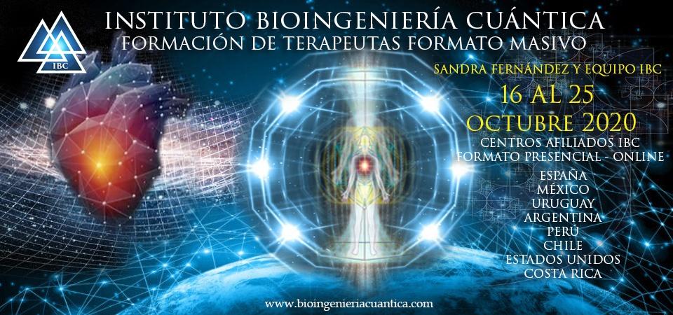 formacion masiva terapeutas con sandra fernandez y equipo ibc en centros afiliados ibc del 16 al 25 de octubre 2020 @ ONLINE