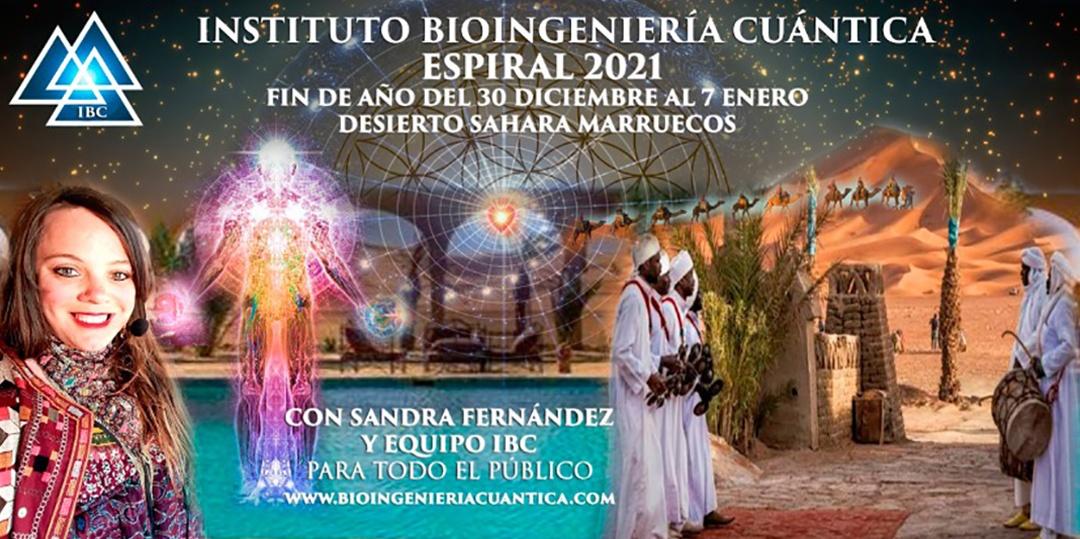 Espiral 2021 Salto Cuántico del 30 diciembre al 7 de enero