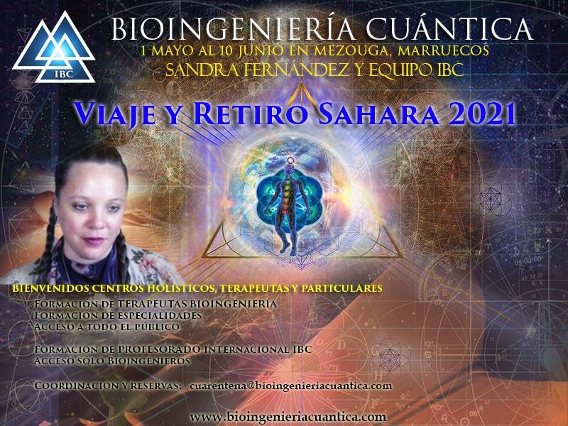 Viaje-retiro desierto del sahara, cuarentena 2021. con Sandra Fernández y Equipo IBC, del 1 mayo al 10 junio @ Desierto Sahara