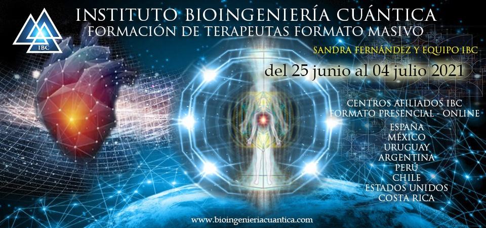 formacion masiva terapeutas con sandra fernandez y equipo ibc en centros afiliados ibc del 25 junio al 4 julio 2021 @ Centros Afiliados IBC